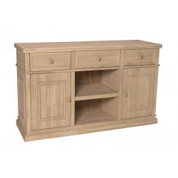 Sturbridge Buffet with Center adjustable Shelf (Built)
