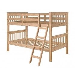 Mission Style Pine Bunk Bed