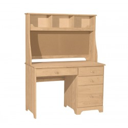 Jamestown 4 drawer desk