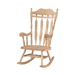 Deluxe Carved Back Rocker