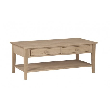 Spencer Coffee Table with Drawers