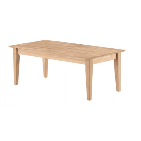"Shaker Coffee Table 42"" Wide"
