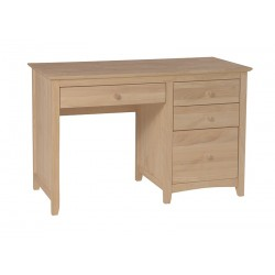 Lancaster 4 Drawer Desk