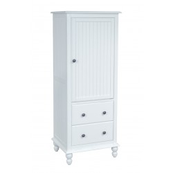 Cottage 2 Drawer Linen Cabinet