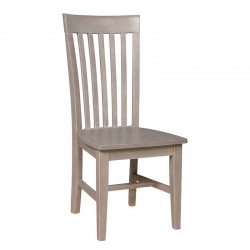 Cosmopolitan Tall Mission Chair - Weathered Gray