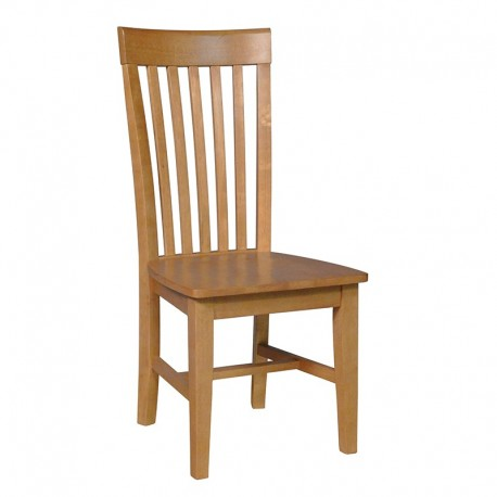 Cosmopolitan Tall Mission Chair - Aged Cherry